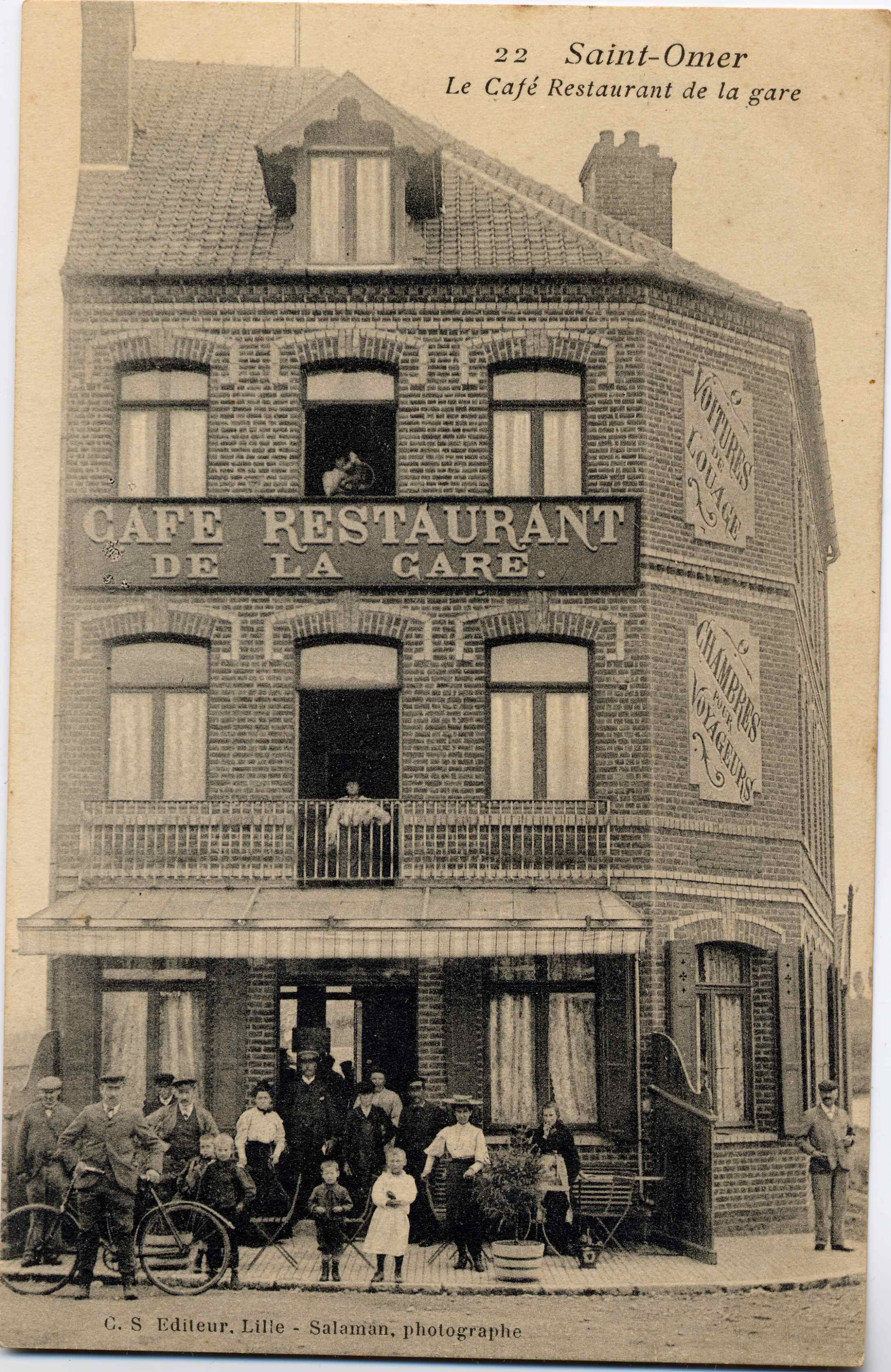 Cafe Saint Omer Avec Bebe