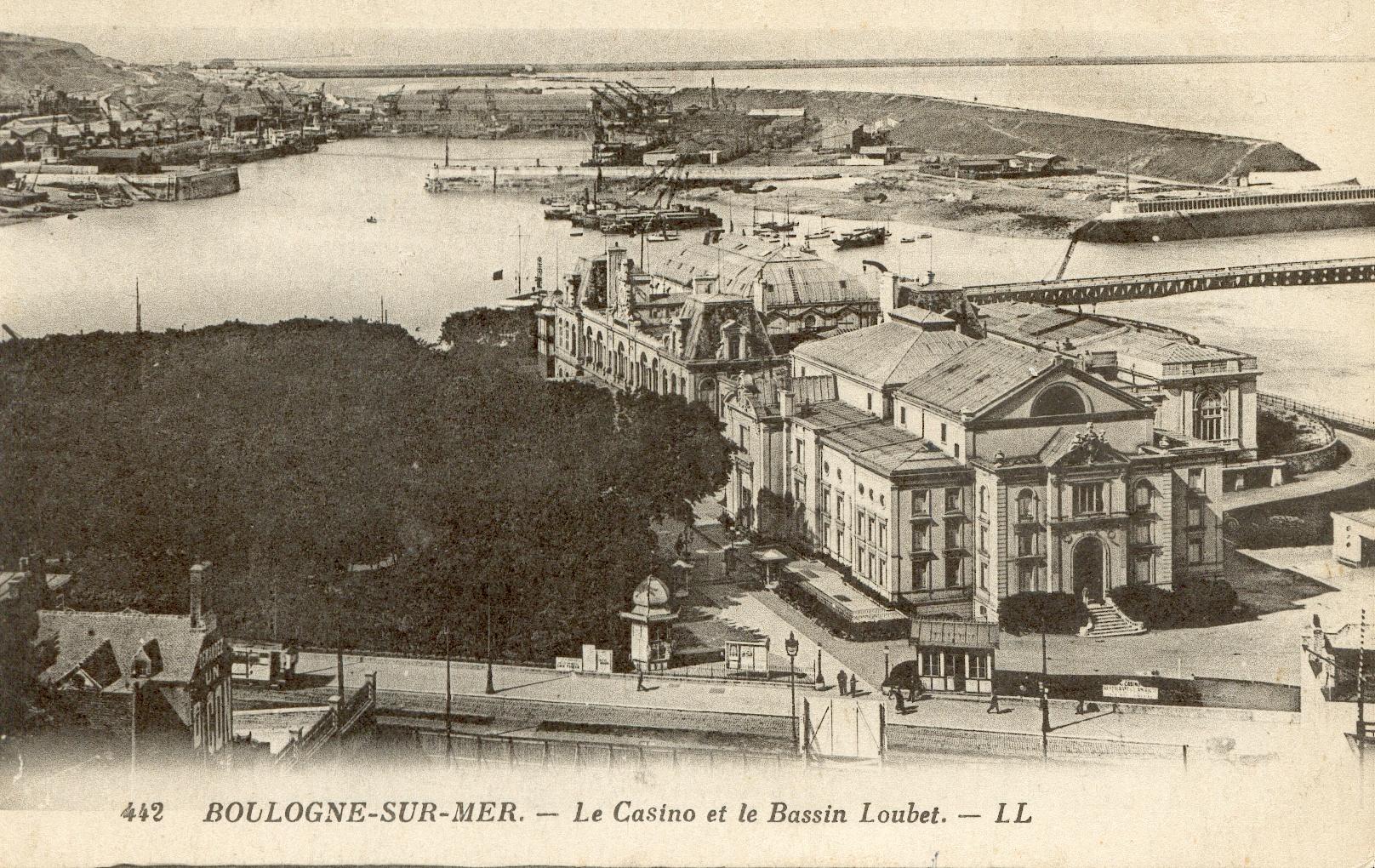 Fichier boulogne sur mer casino et bassin - Bassin recreatif ancienne lorette calais ...