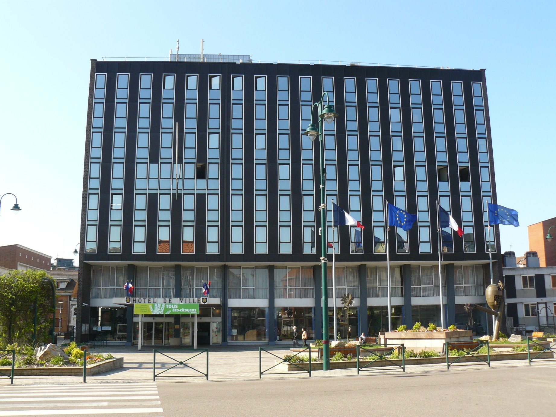 Hotel De Ville De Lens