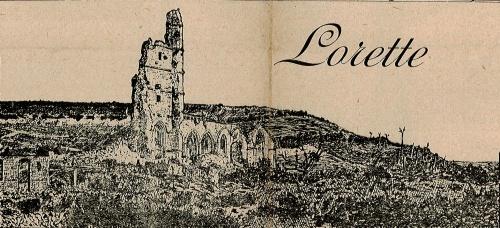 La colline de lorette et les ruines de l 39 glise d 39 ablain - Bassin recreatif ancienne lorette calais ...