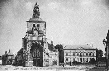 Abbaye saint saulve de montreuil sur mer wikipasdecalais for Piscine st saulve