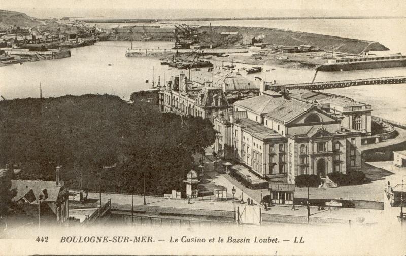 Fichier boulogne sur mer casino et bassin wikipasdecalais - Bassin recreatif ancienne lorette calais ...