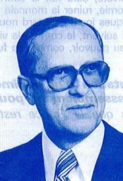 <b>Gabriel Louis</b> Michel Letellier est né le 21 avril 1917 à Roubaix - 250px-Gabriel_Letellier_1978