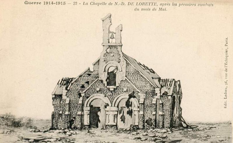 Fichier ablain saint nazaire chapelle lorette d wikipasdecalais - Bassin recreatif ancienne lorette calais ...