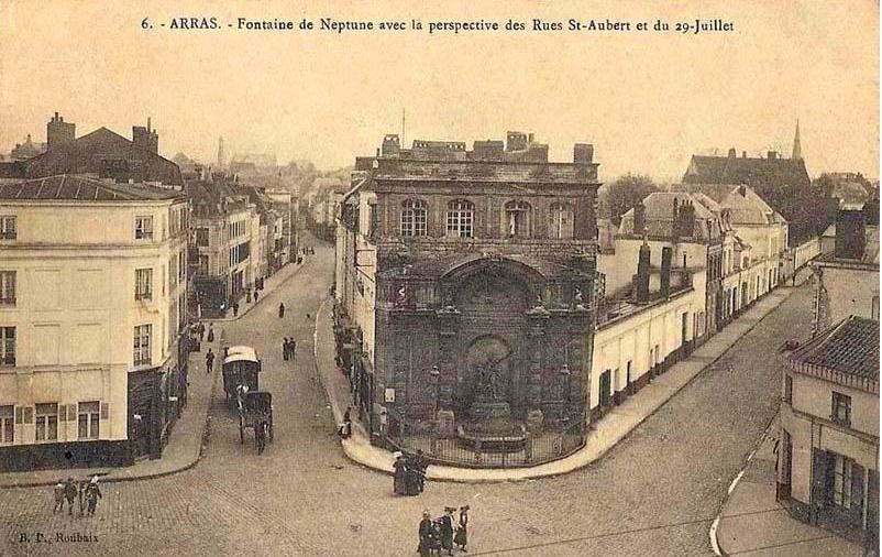 Достопримечательности Арраса: Цитадель, Нижний город, Сите